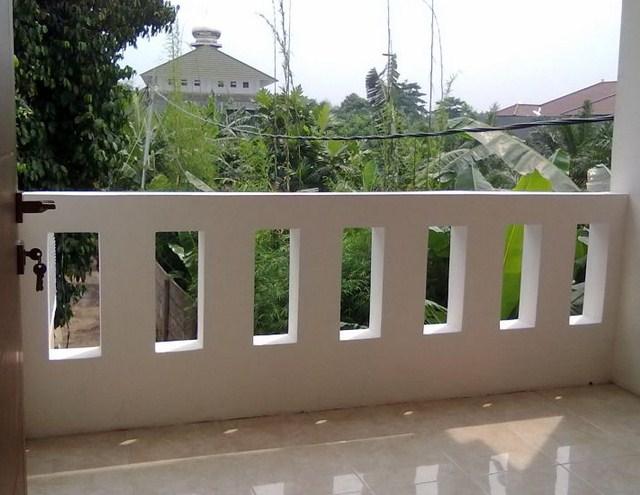 Contoh Balkon Tembok Rumah Minimalis | Balkon Rumah Mewah Minimalis