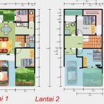 Contoh Denah Rumah Minimalis Sederhana 2 Lantai 6x12