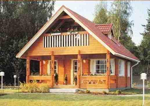 Contoh Model Rumah Kayu Minimalis | Rumah Kayu Tradisional