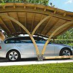 Desain Atap Carport Kayu | Contoh Gambar Carport Minimalis Sederhana