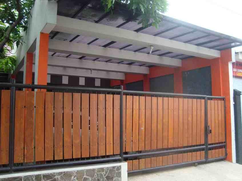 Desain Pagar Rumah Minimalis Dari Kayu | Desain Pagar Rumah Klasik Modern Dari Besi