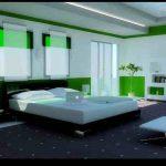 Design Kamar Tidur Minimalis Bernuansa Hijau