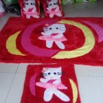 Foto Karpet Rasfur Hello Kitty