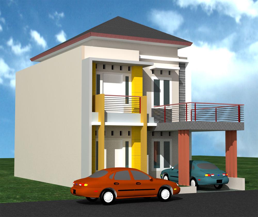 Foto Rumah Minimalis Type 21 2 Lantai | desain rumah minimalis type 21 1 & 2 lantai sederhana | Desain Rumah Kecil Minimalis Type 21 Nyaman
