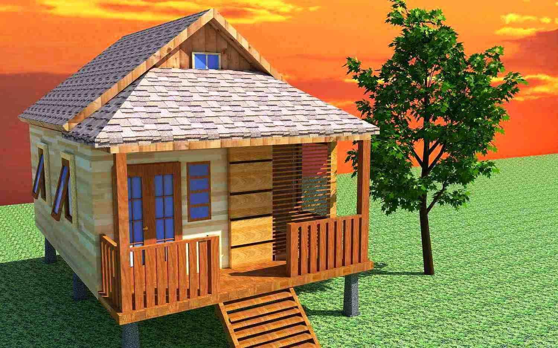 Gambar Desain Rumah Kayu Minimalis Modern & Gambar Desain Rumah Kayu Minimalis Modern - Gambar Desain Rumah (2081)
