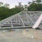 Gambar Konstruksi Atap Baja Ringan