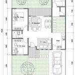Gambar Sketsa Rumah Minimalis Type 70