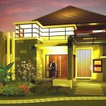 Model Desain Rumah Mewah 1 Lantai | Gambar Foto Rumah Mewah 1 Lantai