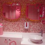 Model Kamar Mandi Anak Hello Kitty | Interior Kamar Mandi Anak Laki Laki