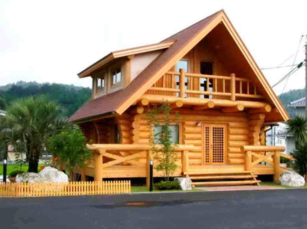 Model Rumah Kayu Minimalis Unik