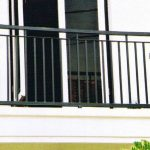 Pagar Balkon Minimalis Lantai 2