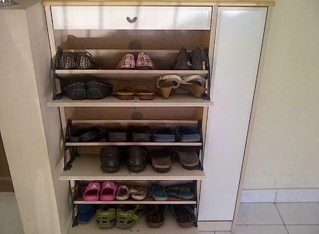 Rak Sepatu Informa | model rak sepatu gantung dan plastik minimalis | Model Rak Sepatu Minimalis