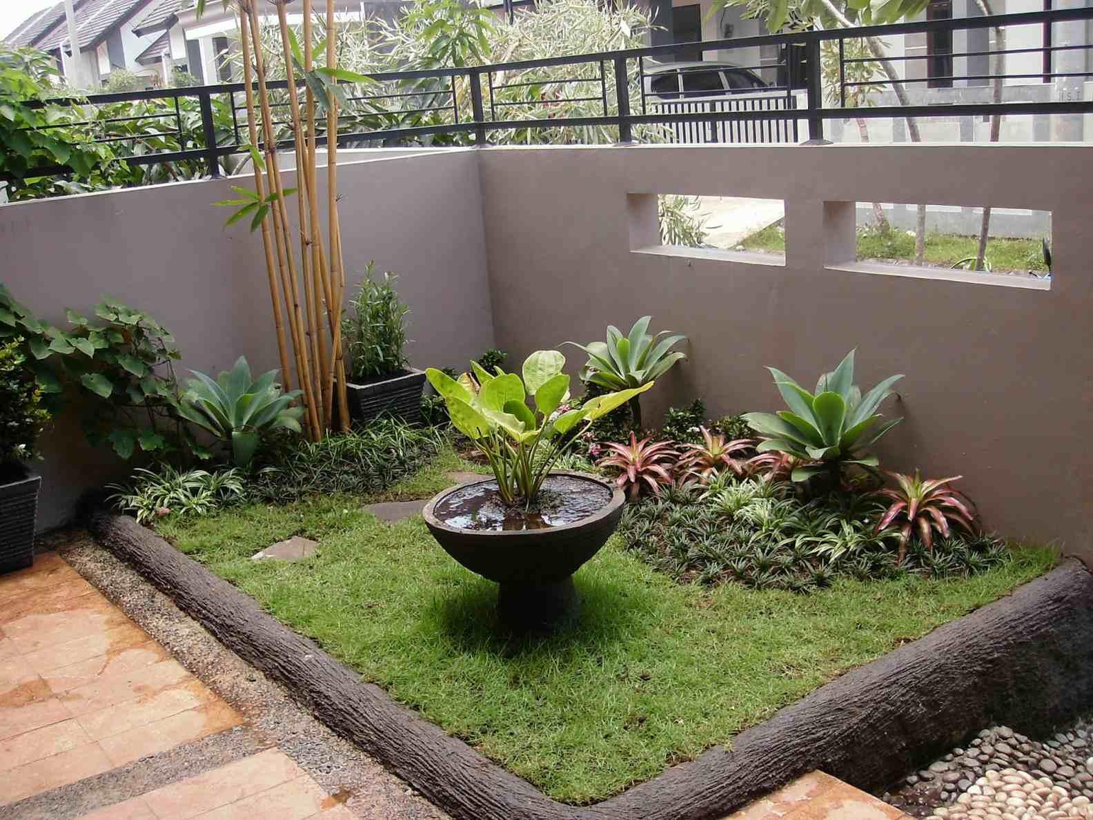 Bentuk Bentuk Taman Rumah Minimalis Destaman