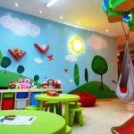 Contoh Dekorasi Tempat Bermain Anak Minimalis | Tempat Bermain Anak Sederhana dari Kayu