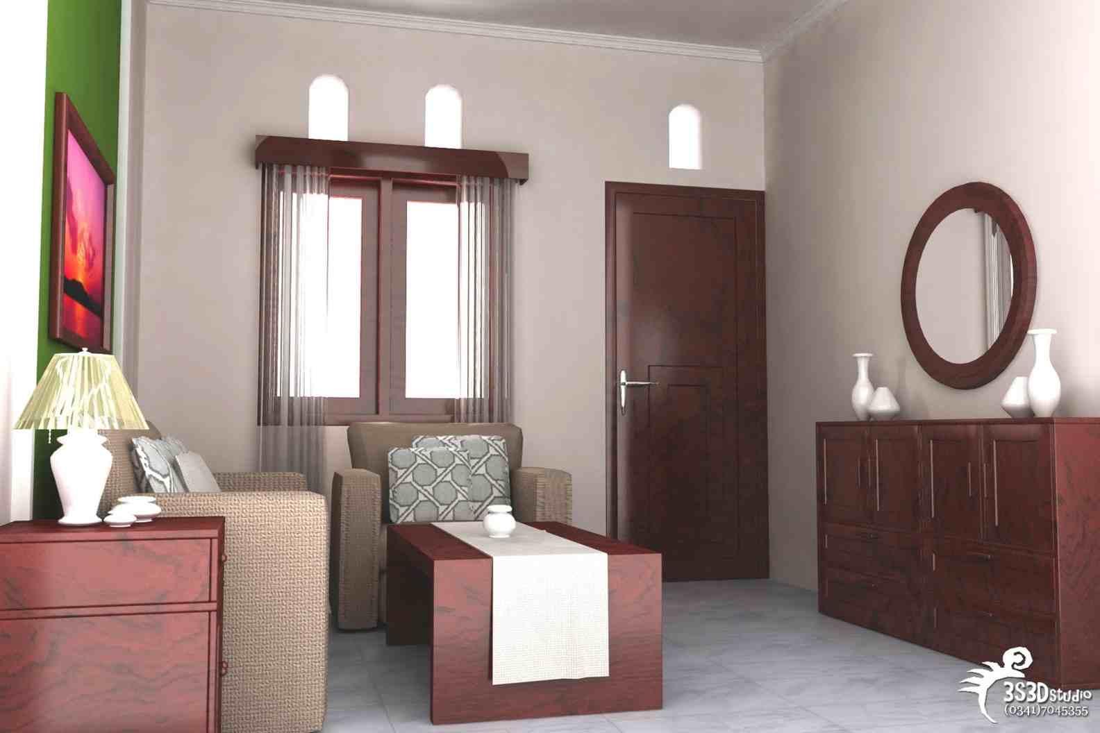 Contoh Desain Interior Rumah Minimalis Type 21 | Rumah Tingkat Minimalis Type 21