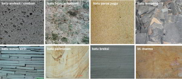 Contoh Keramik Dinding Batu Alam