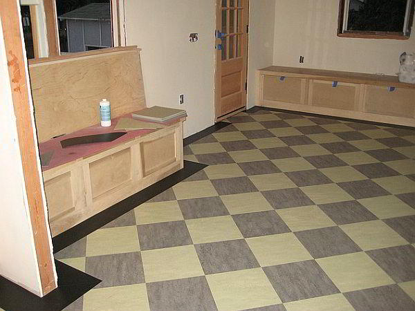 Contoh Keramik Lantai Dapur Modern