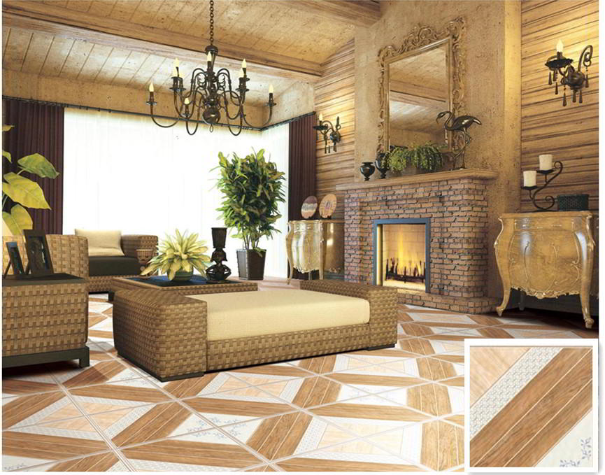 Contoh Keramik Lantai Ruang Tamu Dengan Pattern | Jenis Keramik Lantai Minimalis