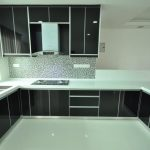 Contoh Kitchen Set Aluminium Murah