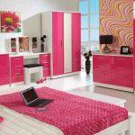 Desain Interior Kamar Tidur Warna Pink | Contoh Warna Cat Kamar Tidur Minimalis Cerah