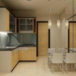 Desain Kitchen Set Kayu Sederhana Modern