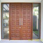 Desain Pintu Minimalis Buka Dua