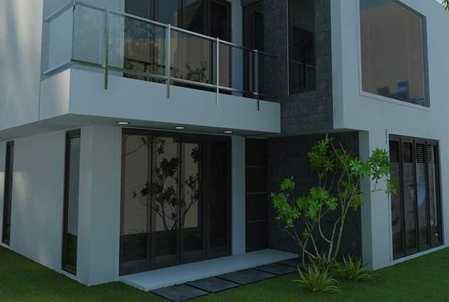 Desain Rumah Kantor Tampak Depan Dan Samping | Contoh Desain Interior Rumah Kantor Minimalis Modern