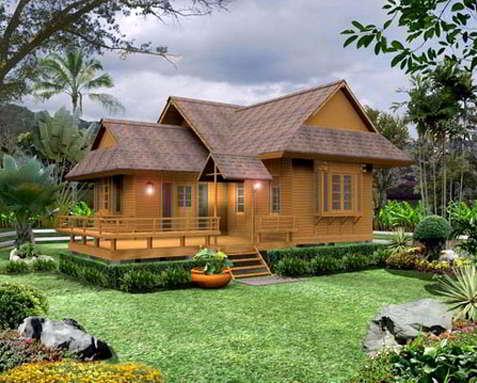 Desain Rumah Panggung Bugis Modern Minimalis | desain dan model rumah panggung kayu minimalis sunda modern | Desain dan Model Rumah Panggung Minimalis Modern Sederhana