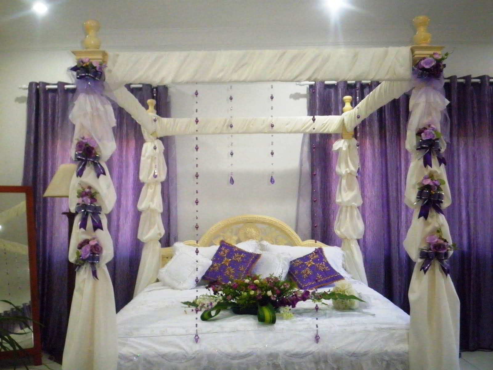 Foto Kamar Tidur Pengantin Romantis | Desain Kamar Tidur Pengantin Sempit Minimalis