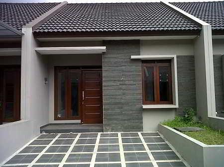 Foto Keramik Lantai Carport Modern