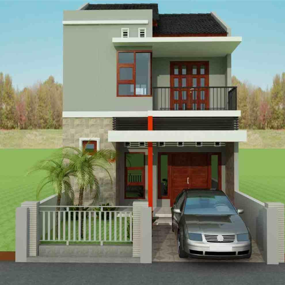 Model Desain Rumah Minimalis Type 36 1 Lantai Dan 2 Lantai