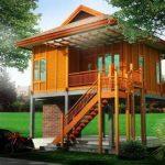 Gambar Desain Rumah Panggung Sederhana