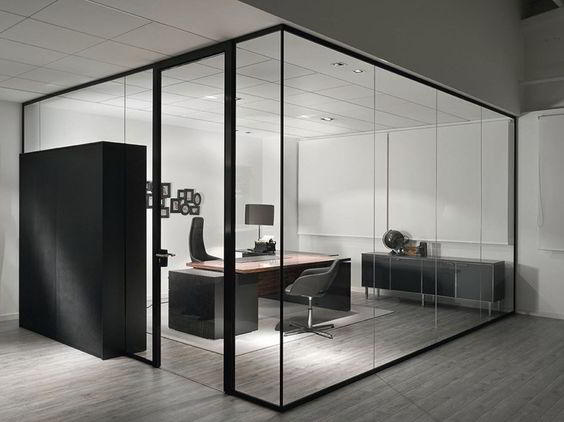 Gambar Partisi Ruang Kantor Kaca | harga + desain partisi ruangan kantor minimalis kaca, alumium & gypsum | Harga dan Desain Partisi Ruangan Kantor Minimalis
