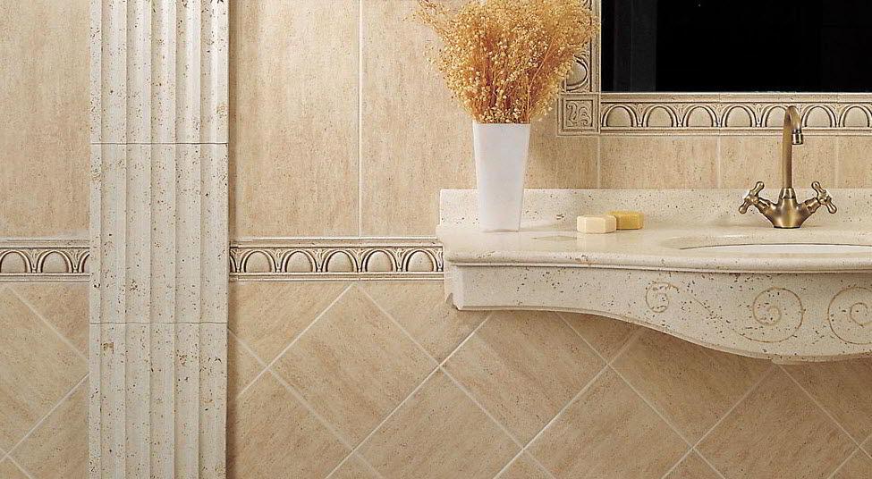 Keramik Dinding Kamar Mandi Asia Tile | Foto Keramik Dinding Kamar Mandi Warna Putih