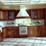 Keramik Lantai Dapur Motif Coklat