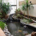Kolam Ikan Dan Taman Mini Belakang Rumah