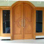 Model Daun Pintu Minimalis Kupu Tarung | Foto Pintu Kaca Utama Modern