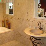 Model Keramik Dinding Kamar Mandi Sederhana Minimalis | Keramik Dinding Kamar Mandi Warna Soft Pink