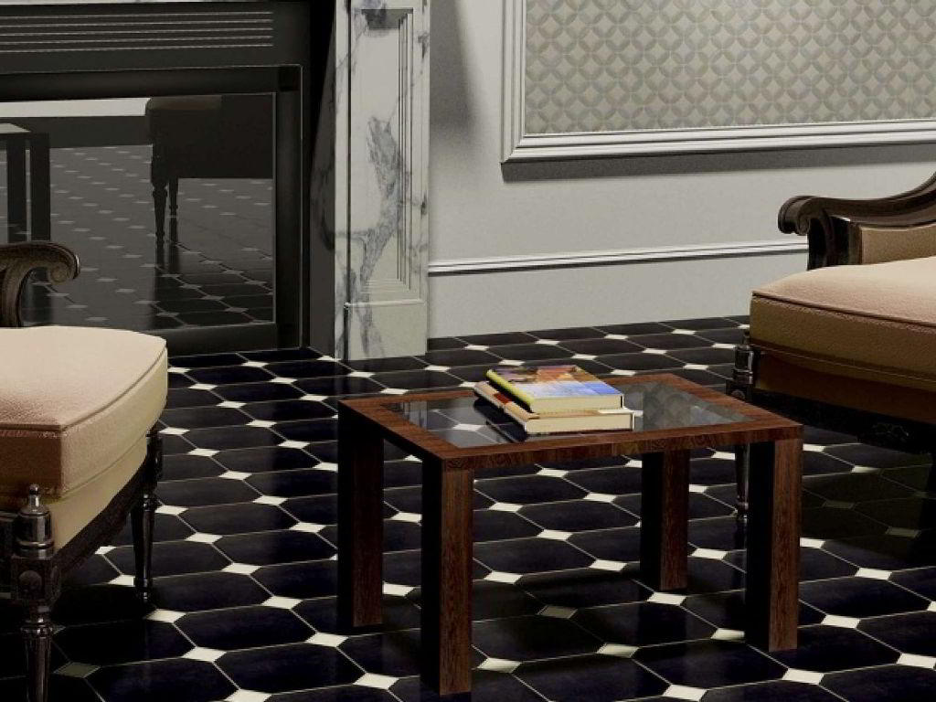 Model Keramik Lantai Ruang Tamu Hitam Unik | Keramik Lantai Ruang Tamu Tekstur Kayu
