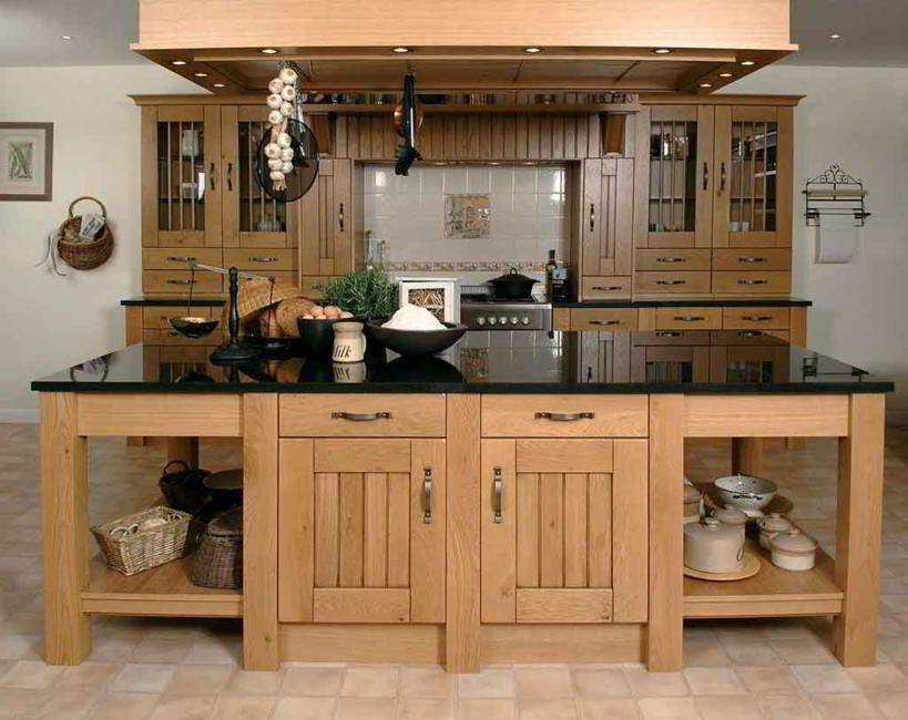 Model Kitchen Set Kayu Jati Sederhana Minimalis Dapur Rumah 3272