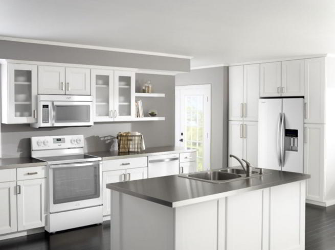 Model Kitchen Set Minimalis Alumium Dan Kayu