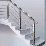 Model Railing Tangga Rumah Minimalis Elegan | Model Railing Stainless Tangga Minimalis