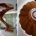 Model Tangga Unik Berbentuk Bunga | Contoh Tangga Depan Rumah Minimalis