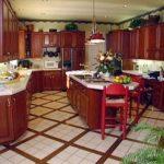 Motif Keramik Lantai Dapur Modern