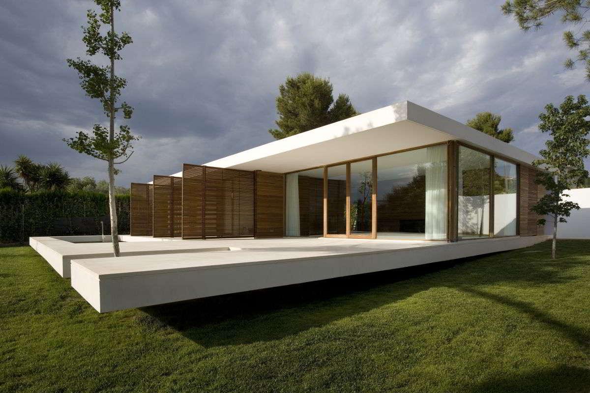 Rumah Kaca Minimalis Sederhana 1 Lantai | Desain Interior Rumah Kaca Modern