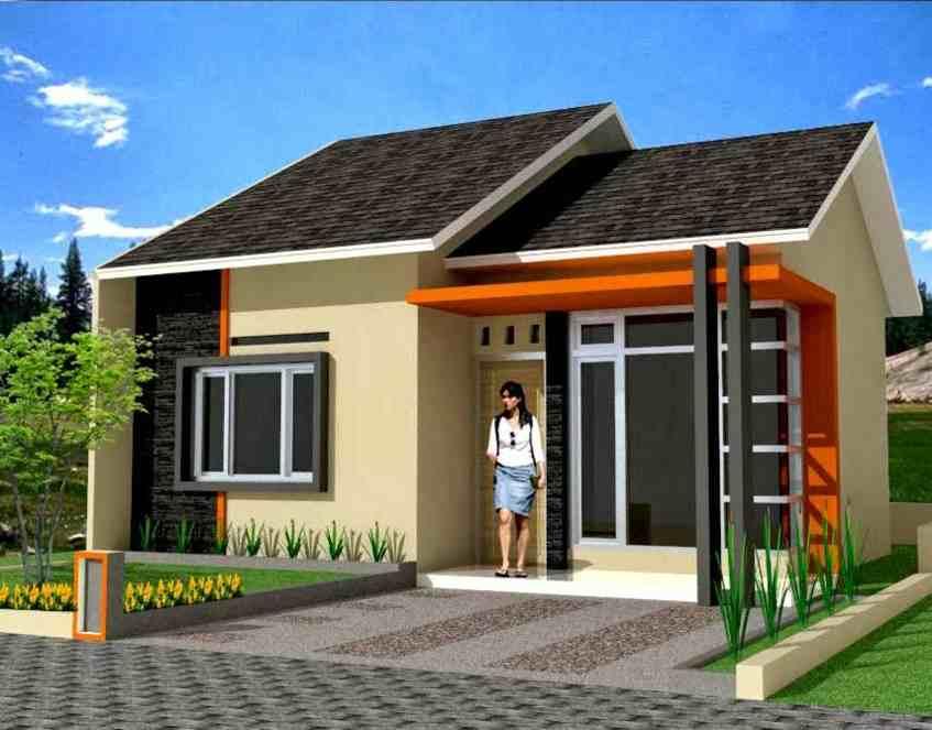 Rumah Minimalis Type 45 1 Lantai Terbaru | Contoh Rumah Minimalis Type 45 2 Lantai