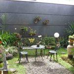 Taman Belakang Rumah Minimalis Dan Teras | Contoh Taman Kecil Di Belakang Rumah